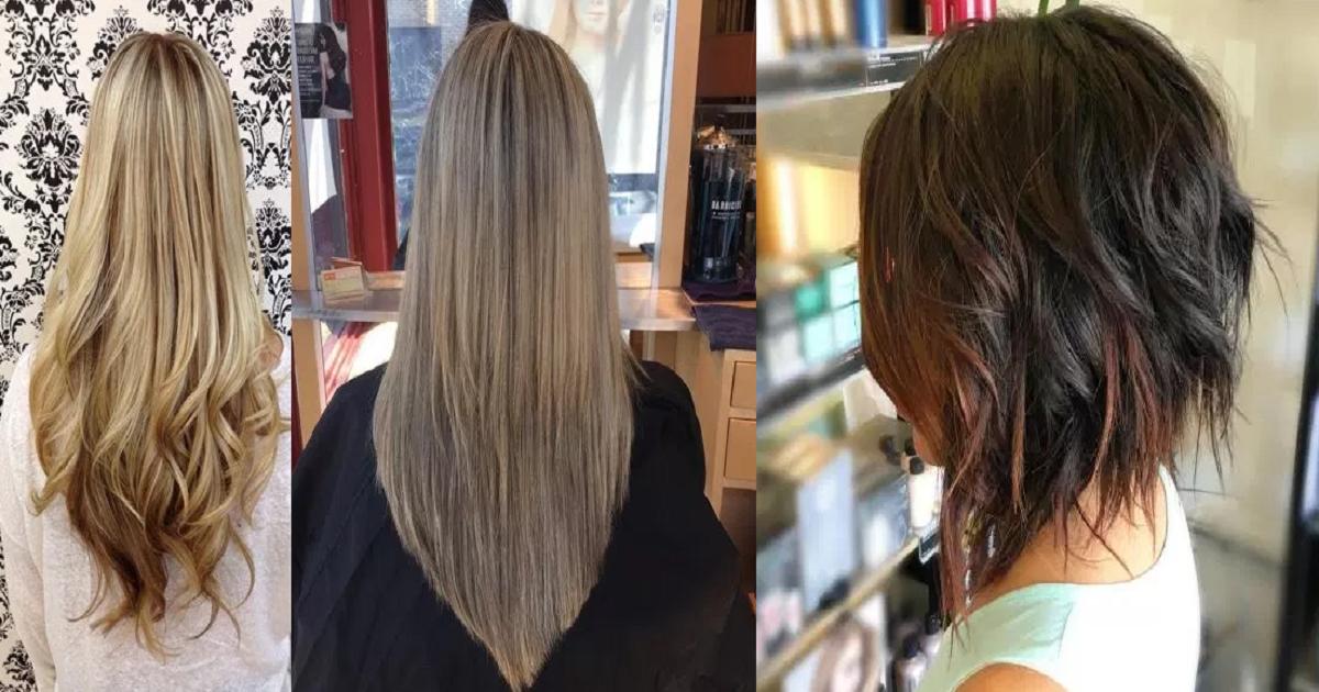 U Shaped Haircut For Medium Hair V-Shaped Haircut and U...